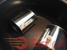 Retire as etiquetas das latas, a menos que esteja impresso na lata.