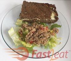 """Decore com as folhas de hortelã. Sirva quente, acompanhado de uma salada fresca e/ou com esse delicioso <a href=""""http://fast2eat.com.br/recipe/tabule/"""">Tabule</a>."""