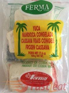 Você pode comprar aipim/mandioca congelado já descascada ou usar um fresco. Eu uso congelado para facilitar a preparação.