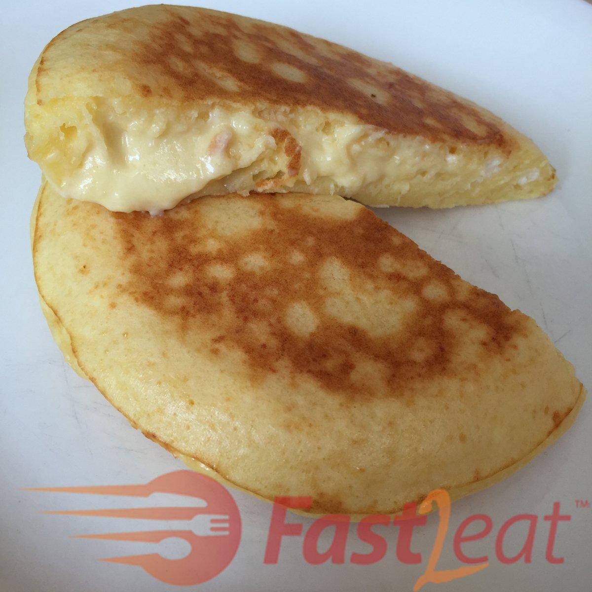 Pão de queijo de frigideira em 10 minutos Fast2eat
